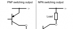 pressure switches with PNP and NPN output
