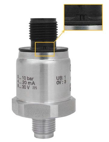 pressure sensor with vent hole