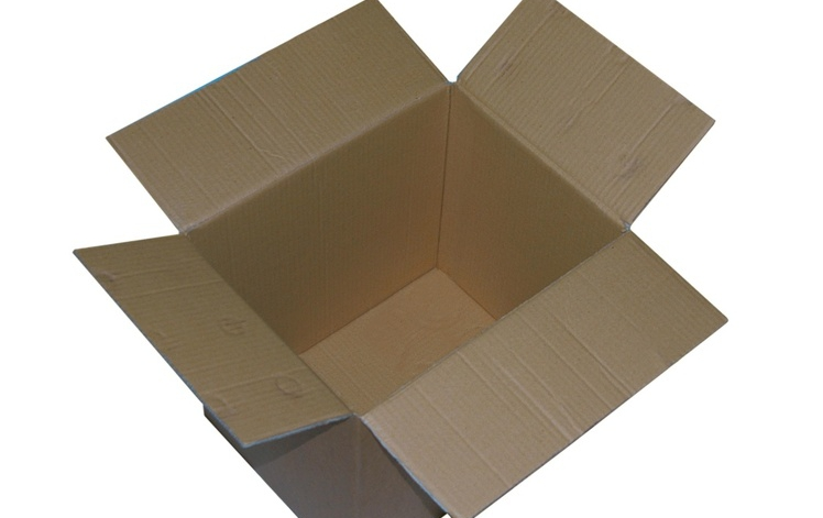 opened packaging box