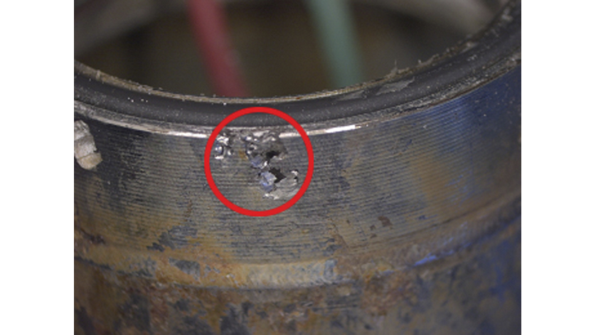corrosion at level probes