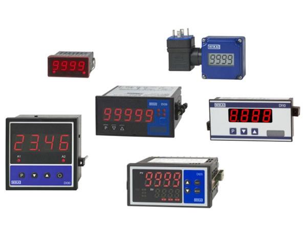 various digital indicators