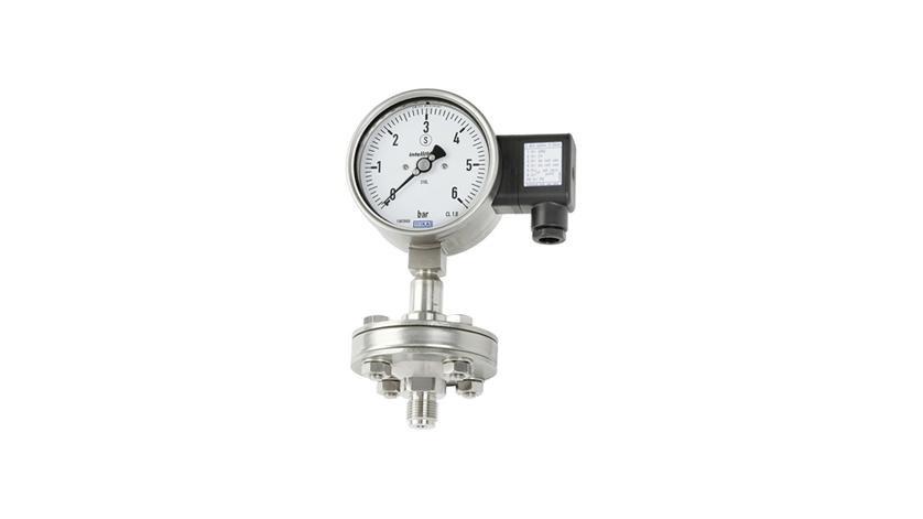 pressure gauge with diaphragm seal