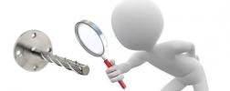 illustration: material identification test