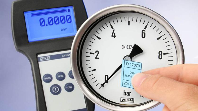certified pressure gauge