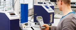 Picture: Temperature dry well calibrator