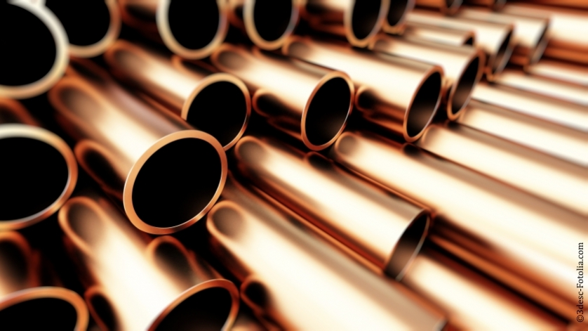 copper pipelines