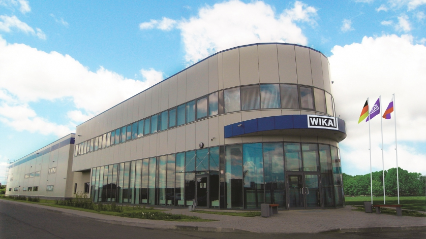building of WIKA moscow