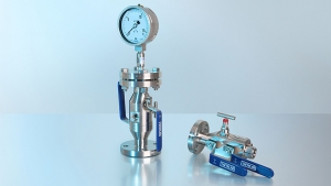 Combination of pressure measuring instrument with accessories – Hook-up instead of own assembly
